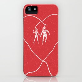Love Space, Red iPhone Case