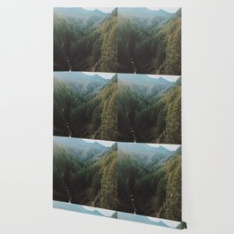 Salt Creek Falls Lookout Wallpaper