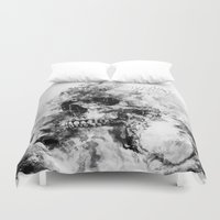 silent Duvet Covers featuring Silent Hill by RIZA PEKER