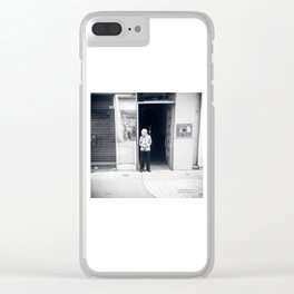 A Sweet Chinese Life In The Street Clear iPhone Case