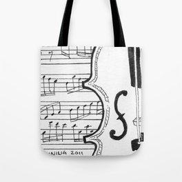 Violin Song Tote Bag