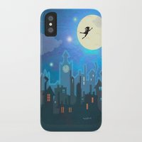 peter pan iPhone & iPod Cases featuring Peter Pan by MagzArt
