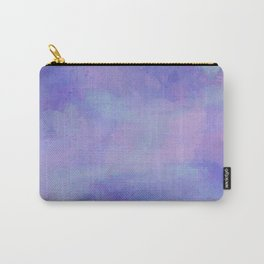 Watercolour Galaxy - Purple Speckled Sky Carry-All Pouch