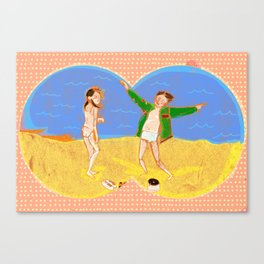 Tribute to Moonrise Kingdom Canvas Print