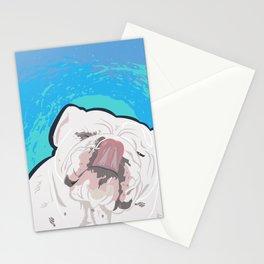 Bulldog Slurp Stationery Cards