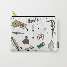 Wiccan Altar Flash Sheet Carry-All Pouch