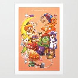 Ragnarok Online Pets Art Print