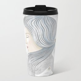 The waterfall of Subconsciousness Metal Travel Mug