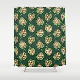 Cotton Ball Bats Shower Curtain