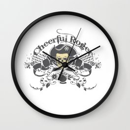 Cheerful Rodger Wall Clock