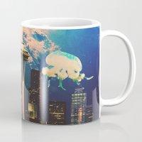 future Mugs featuring Future. by Daniel Montero