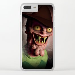 Scary Terry Clear iPhone Case