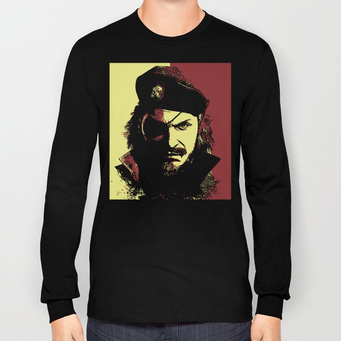 Big Boss (naked snake from metal gear solid) Long Sleeve T-shirt ...