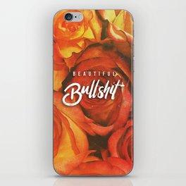 Beautiful Bullshit iPhone Skin