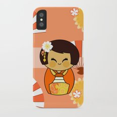 Kokeshi Momo Slim Case iPhone X