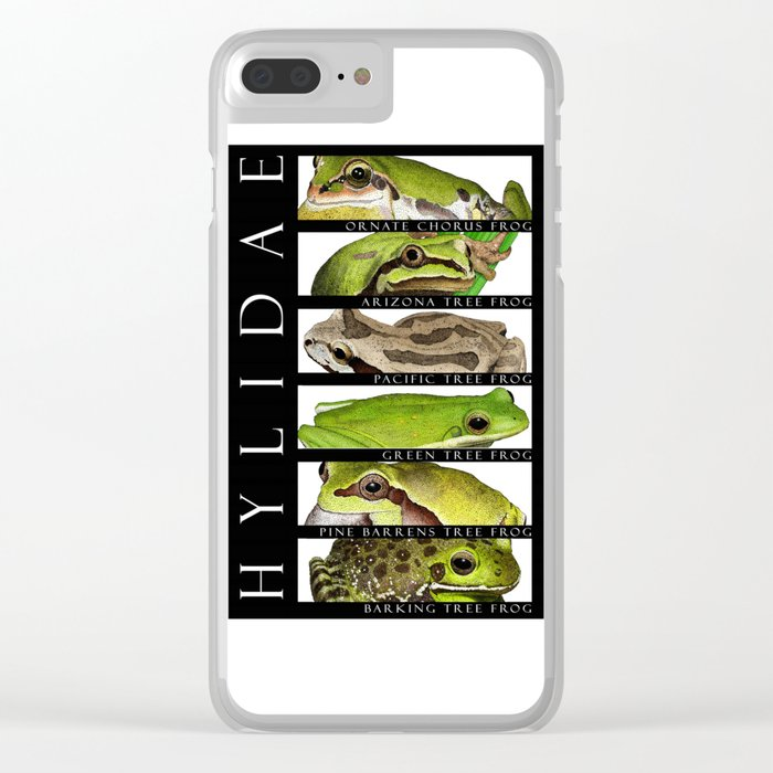 Tree frogs of North America - Hylidae Clear iPhone Case