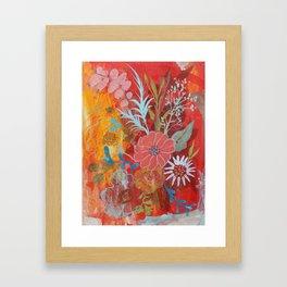 Ode to Spring Framed Art Print
