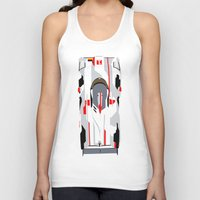 tron Tank Tops featuring E-Tron by Arch Duke Maxyenko