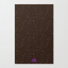 Trail Status / Brown Canvas Print