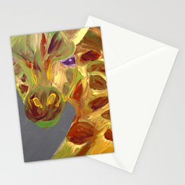 Spots and Lines Stationery Cards