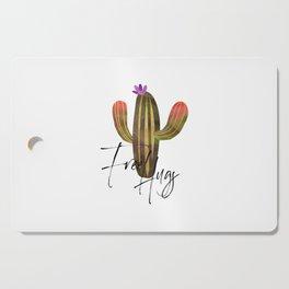 Free Hugs, Hug Quote, Hug Art, Free Hugs Quote, Cactus Art Cutting Board