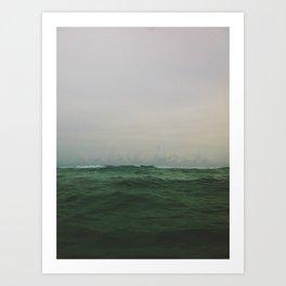 Depths Art Print