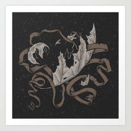 Night falling  Art Print