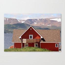 Postcard from Newfoundland Canvas Print