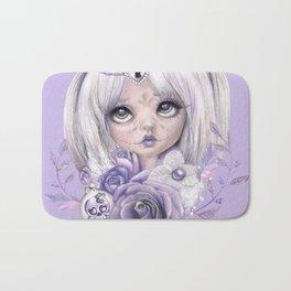 Lavender Grey - Sugar Sweeties - Sheena Pike Art & Illustration Bath Mat