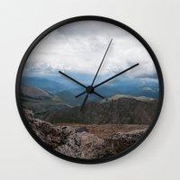 colorado Wall Clocks featuring Colorado by Ashley Hirst Photography
