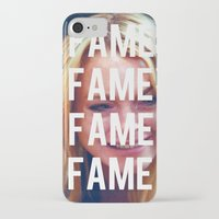 lindsay lohan iPhone & iPod Cases featuring FAME - LINDSAY LOHAN by Beauty Killer Art