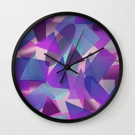 Abstract cube II Wall Clock