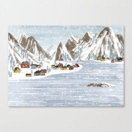Denmark. Canvas Print