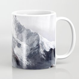 Panoramic View Of Everest Mountain Coffee Mug