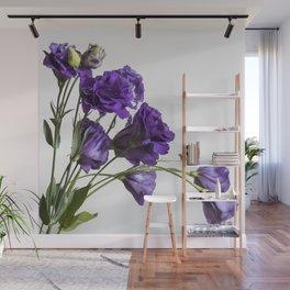 Purple Lisanthus Flowers #1 Wall Mural