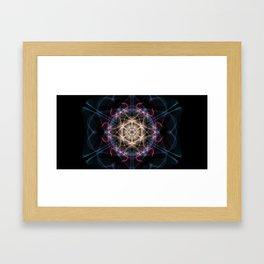 Atom Framed Art Print