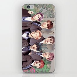 Bangtan Boyfriend Dating Sim iPhone Skin