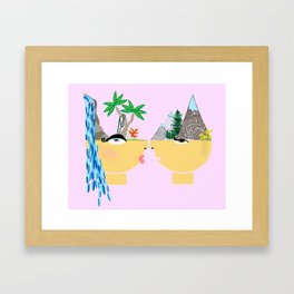 this is not about a boy Framed Art Print