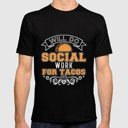 Social Worker Profession Job Title T-shirt