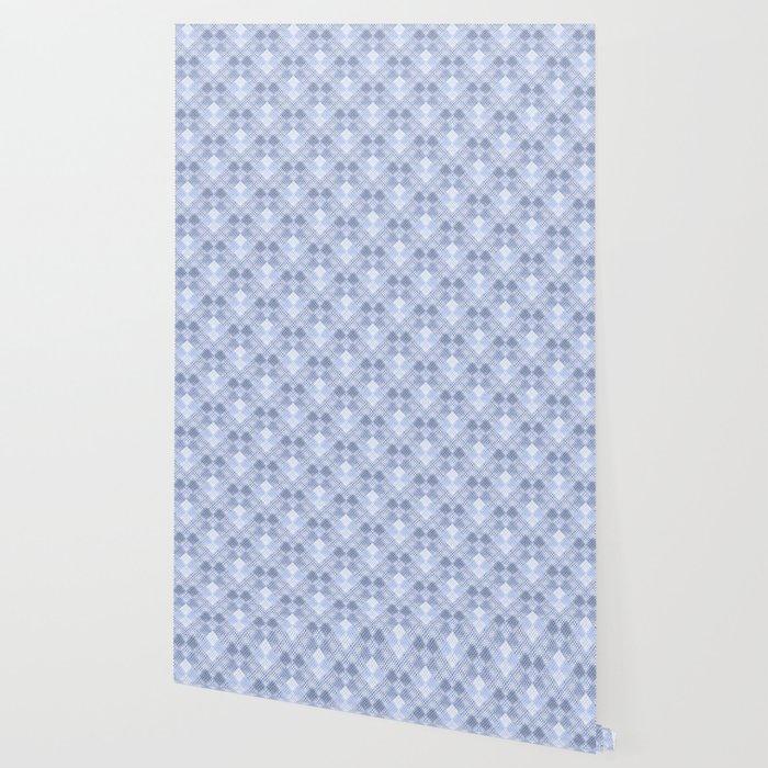 Gray, light blue , white geometric pattern. Wallpaper by ...