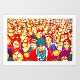 The hope wanted Art Print