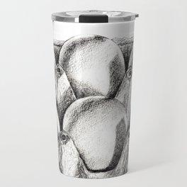 Egg in Carton Travel Mug