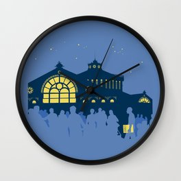 Sant Antoni, Barcelona Wall Clock