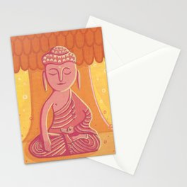 Buddha C Stationery Cards