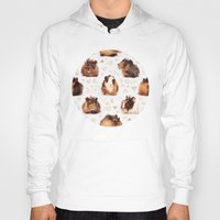 guinea pig Hoodies featuring The Essential Guinea Pig by micklyn