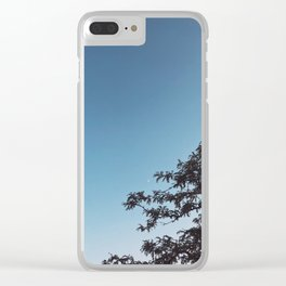 Lighting up the evening Clear iPhone Case