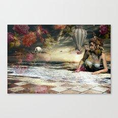 Skyfall in the Garden of Eden Canvas Print