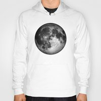 the moon Hoodies featuring moon by Tudor