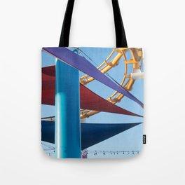 Santa Monica Pier 1 Tote Bag
