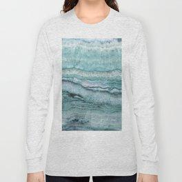 Mystic Stone Aqua Teal Long Sleeve T-shirt